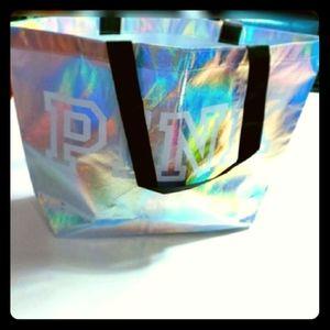 Reusable Pink tote bag